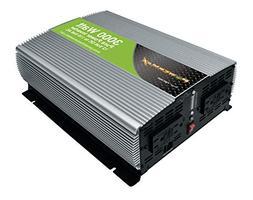 PowerMax PMX 3000W 12Vdc to 120Vac Pure Sine Wave Inverter