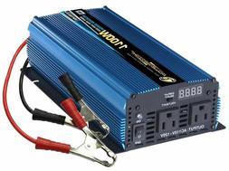 Portable Power, PW1100-12 Power Inverter 1100 Watt 12 Volt D
