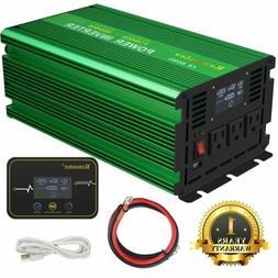 Renoster Power Inverter 1500W 3000 Watt Pure Sine Wave 12V d
