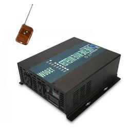 Power Inverter 1500W Pure Sine Wave 12V 110V 120V Solar Off