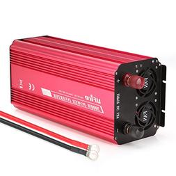 UFire 3000W Power Inverter, DC 12V to 110V AC Car Converter