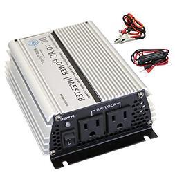 AIMS Power 400 Watt 12 VDC Car Power Inverter with Cigarette