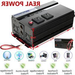 Power Inverter Converter 2000W Real High Power For Car Van B