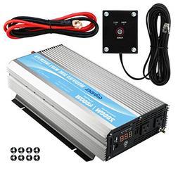 GIANDEL 2000W Power Inverter 12V DC to 110V 120V AC with Rem