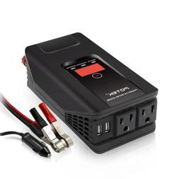 POTEK 500W Power Inverter DC 12V to 110V AC Car Converter wi