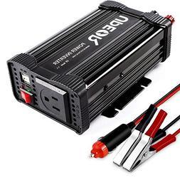 400W Power Inverter DC 12V to 110V AC Car Inverter with 4.2A