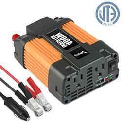 Ampeak 400W Power Inverter DC 12V to 110V AC Converter with