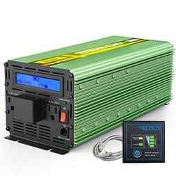 EDECOA Power Inverter 3000w Power Inverter 12V to 110V with