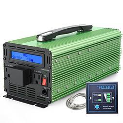 EDECOA 3000W Power Inverter Modified Sine Wave DC 12V to AC