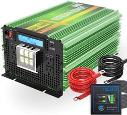 3500W 7000W Power Inverter Pure Sine Wave 12V to 120V invert