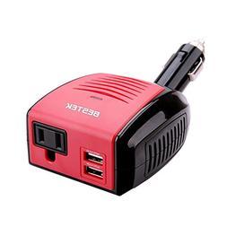 BESTEK 150W Power Inverter, DC 12V to 110V AC Car Inverter w