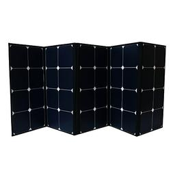 Aims Power PV120CASE 120W Portable Foldable Solar Panel, 120