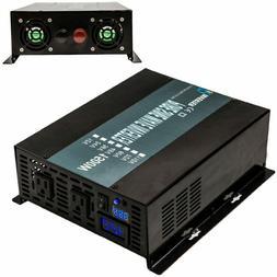 Pure Sine Wave Inverter 1500W 48V DC to 120V AC Powe Inverte