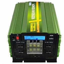 EDECOA Pure Sine Wave Power Inverter 3500W 7000 Watt 12V dc