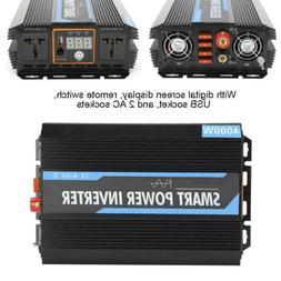Pure Sine Wave Power Inverter Input 12V to 220V 4000W Voltag