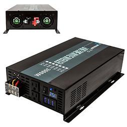 Reliable 3000W Pure Sine Wave Solar Power Inverter 48V 120V