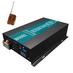 WZRELB Reliable 3000W Pure Sine Wave Solar Power Inverter 48