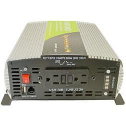 PowerMax 1000 Watt 12 Volt Pure Sine Wave DC to AC Power Inv