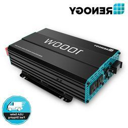 Renogy 1000W 12V Pure Sine Wave Solar Inverter Power Battery