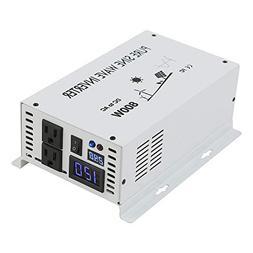 WZRELB Pure Sine Wave 800W Home Power Generator Inverter Off