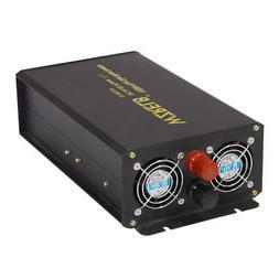 WZRELB Pure Sine Wave Power Inverter 3000w 12v DC to 120v AC