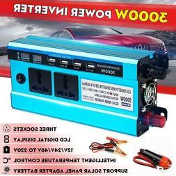 Solar Inverter DC12V to AC220V 3000W Inverter Voltage Transf