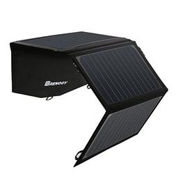 Renogy 21W Solar Panel Foldable PowerPort Dual USB Water Res