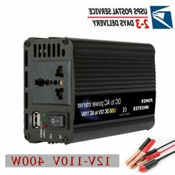 Solar Power Inverter 400W/6000W DC 12V To AC 110V Modified S