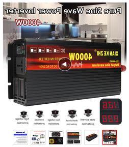 Solar wind power Inverter 12-24V 220V 4000W Transformer Conv