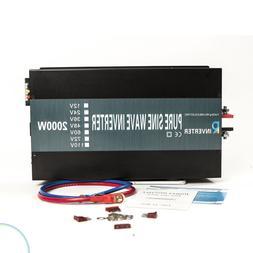 StyYLL - 48v 2000w Pure Sine Inverter & Remote - RV Marine T