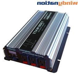 VertaMax 1500 Watt Pure Sine Wave Power Inverter DC to AC Ca