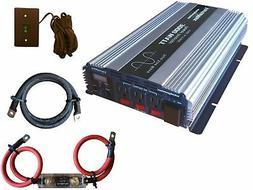 VertaMax PURE SINE WAVE 3000 Watt  12V Power Inverter DC to