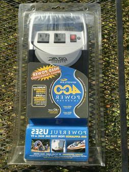 Whistler 400 Watt Power Inverter Portable Travel GO AC PP400