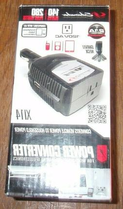 Schumacher XI14 140 Watt DC to AC Power Inverter