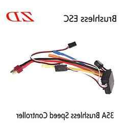 ZD 6639 ESC 35A Brushless Electric Speed Controller Original